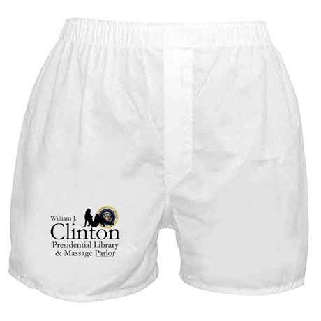 Clinton Library & Massage Boxer Shorts