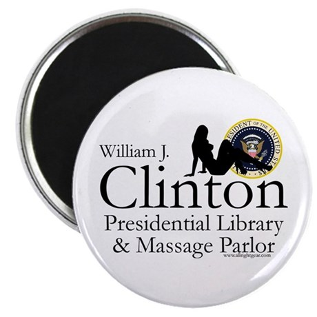 Clinton Library & Massage Magnet