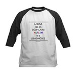 Autism ~ Labels go on soup cans Kids Baseball Jers