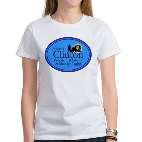 Clinton Library & Massage Women's T-Shirt