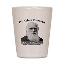 Darwin: Created Shot Glass