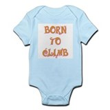 Born To Climb 2 Onesie