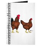 Red Broiler Pair Journal