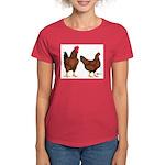 Red Broiler Pair Women's Dark T-Shirt
