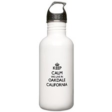 Keep calm we live in O Water Bottle