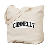 CONNELLY (curve-black) Tote Bag