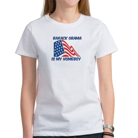 BARACK OBAMA is my homeboy Women's T-Shirt