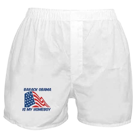 BARACK OBAMA is my homeboy Boxer Shorts