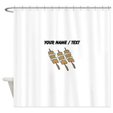 Custom Shish Kabob Shower Curtain