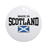 Made In Scotland Ornament (Round)