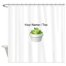 Custom Slaw Shower Curtain