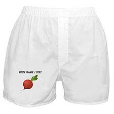 Custom Radish Boxer Shorts