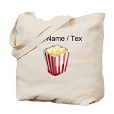 Custom Popcorn Tote Bag