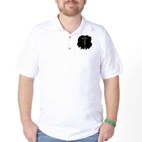Jesus on the Cross Golf Shirt