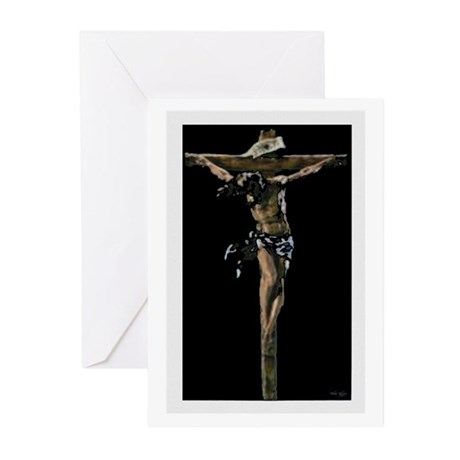 Jesus on the Cross Greeting Cards (Pk of 10)
