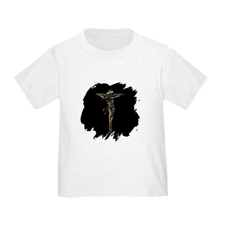 Jesus on the Cross Toddler T-Shirt