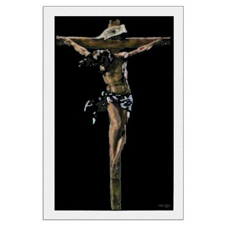 Jesus on the Cross Large Poster