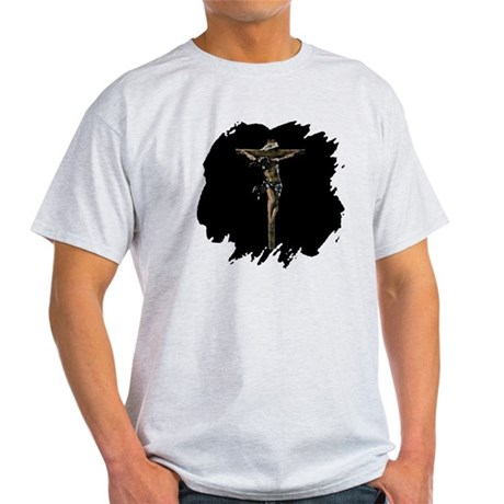 Jesus on the Cross Light T-Shirt
