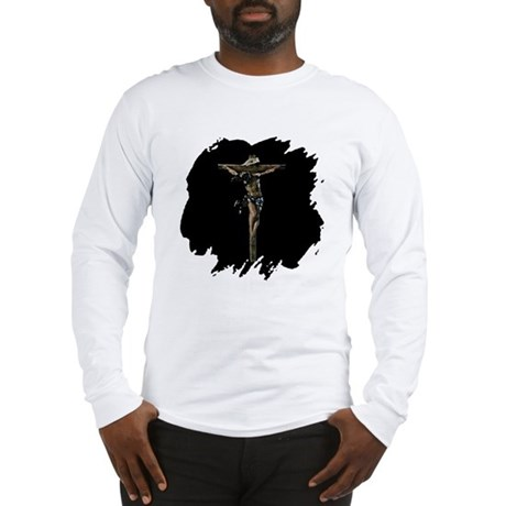 Jesus on the Cross Long Sleeve T-Shirt