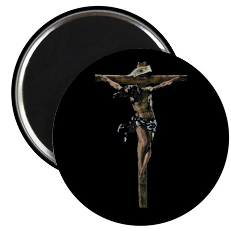 "Jesus on the Cross 2.25"" Magnet (100 pack)"