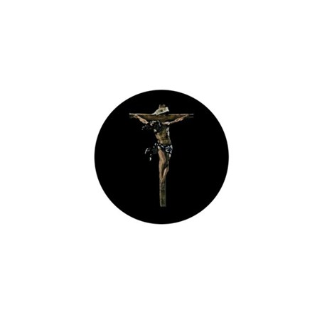 Jesus on the Cross Mini Button