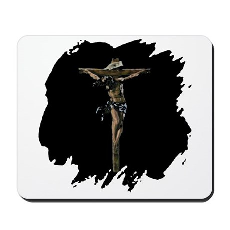Jesus on the Cross Mousepad