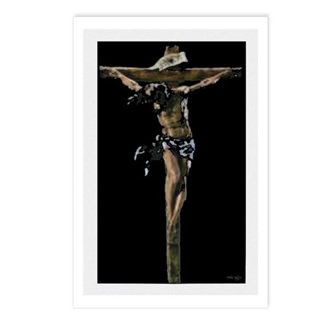 Jesus on the Cross Postcards (Package of 8)