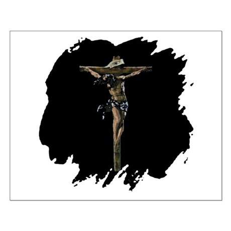 Jesus on the Cross Small Poster