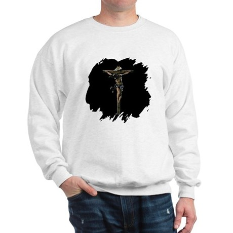 Jesus on the Cross Sweatshirt