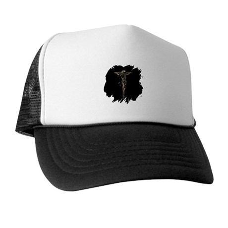 Jesus on the Cross Trucker Hat