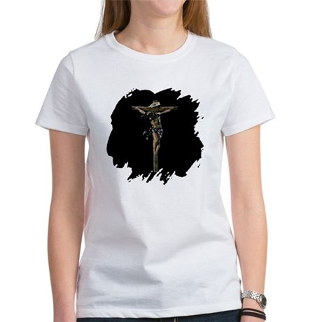 Jesus on the Cross Women's T-Shirt