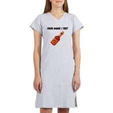 Custom Hot Sauce Women's Nightshirt