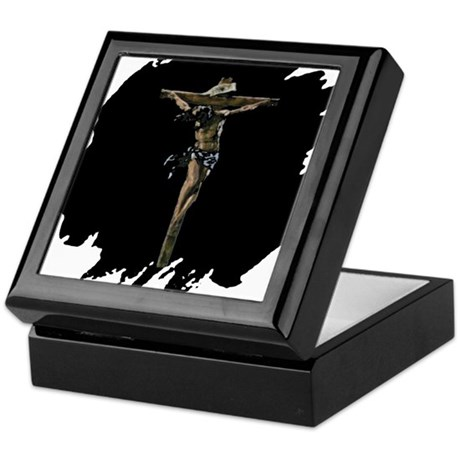 Jesus on the Cross Keepsake Box