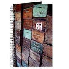 Antique Wooden Boxes Journal