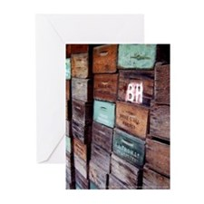 Antique Wooden Boxes Greeting Cards (6)