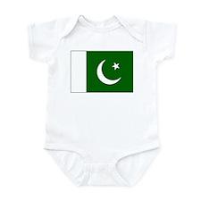 Pakistan Flag Infant Bodysuit