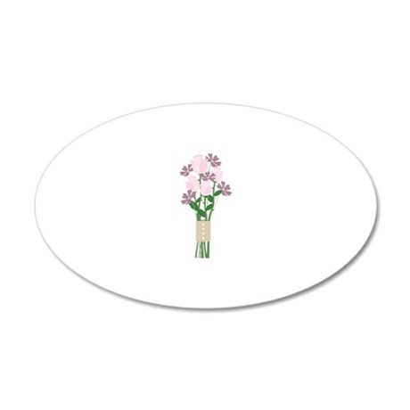 Rose Bouquet Wall Decal