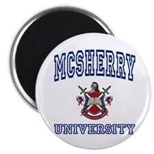 "MCSHERRY University 2.25"" Magnet (100 pack)"