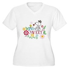 So Sweet - Snoopy Plus Size T-Shirt