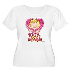 Sally 100% Adorable Plus Size T-Shirt