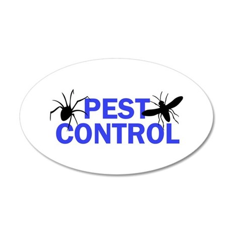 Pest Control Wall Decal