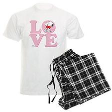 LOVE - Snoopy Pajamas