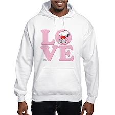 LOVE - Snoopy Hoodie