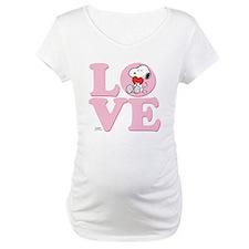 LOVE - Snoopy Maternity T-Shirt