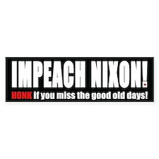 Impeach Nixon! Bumper Bumper Sticker
