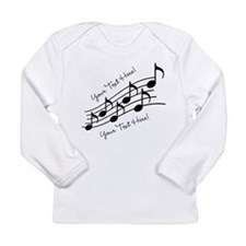 Music Notes PERSONALIZED Long Sleeve T-Shirt