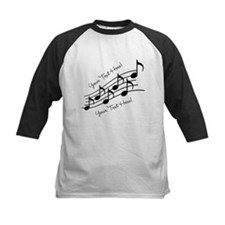 Music Notes PERSONALIZED Baseball Jersey