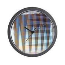 Aluminum Culvert Abstract Wall Clock