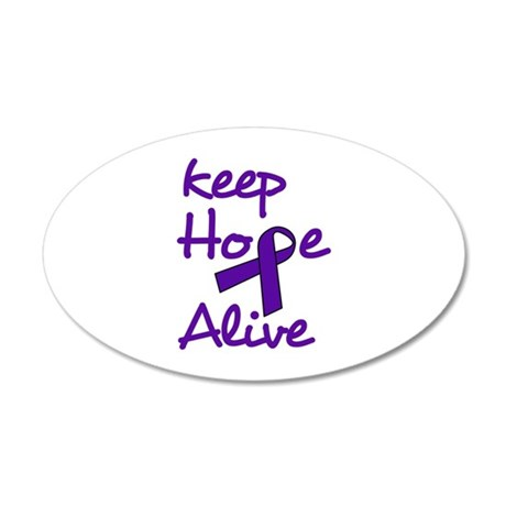 Keep Hope Alive Wall Decal