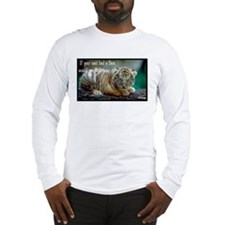 Tiger Coat Long Sleeve T-Shirt